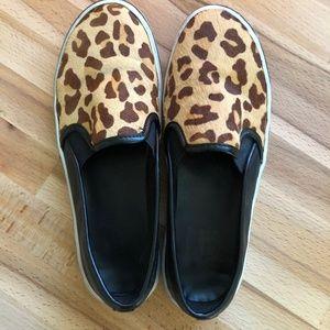 Dolce Vita Samari Slip on Leopard print sneaker